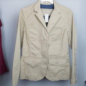 Eddie Bauer Khaki blazer jacket size 6